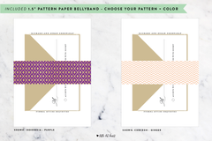Pattern Collection - Customizable Wedding Invitation Set
