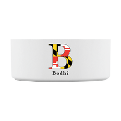 Maryland Flag Pet Bowl