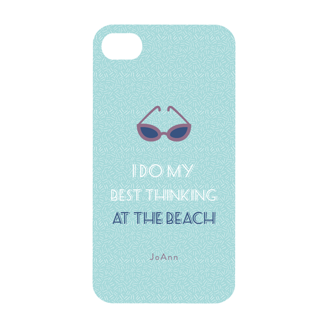 Beach Thinking Phone Case