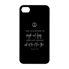 Proverbs 31:25 Phone Case