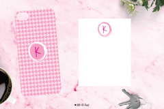 sketch initial - pink collection