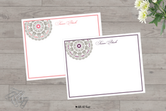 lace wheel stationery