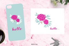 sweet floral - pink collection