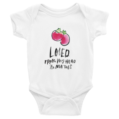 Loved from My Head To ma toes Kids/Baby Shirt