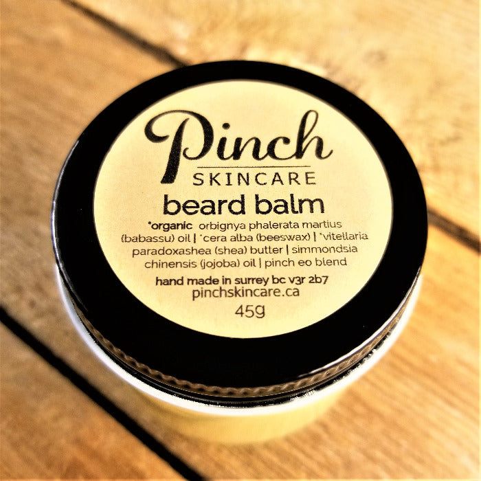Pinch Skincare Beard Balm Natural Vancouver