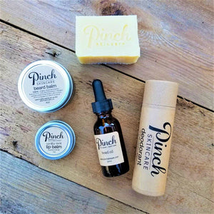 Pinch Skincare Mens Products made in vancouver canada