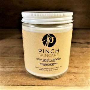 Pinch Skincare Essential Oil Soy Wax Candle