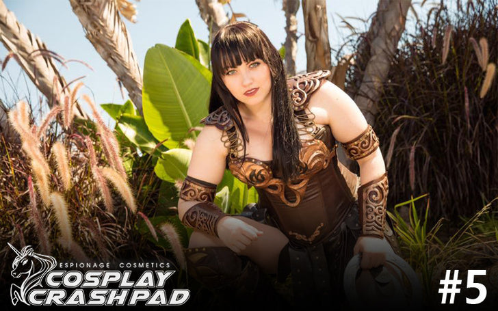 "Cosplay Crash Pad #5: Bernadette Bentley ""Bernadazzles"" as Xena!"
