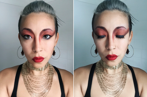 Channel Your Inner Red Goddess with this Makeup Tutorial