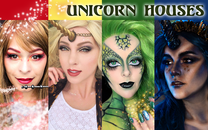 UNICORNS UNITE! 🦄 4 Houses, 4 Magical Nerd Makeup Looks