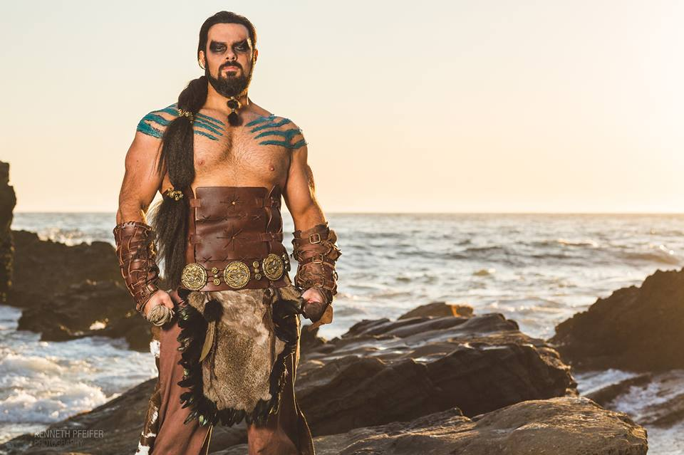 René Koiter as Khal Drogo