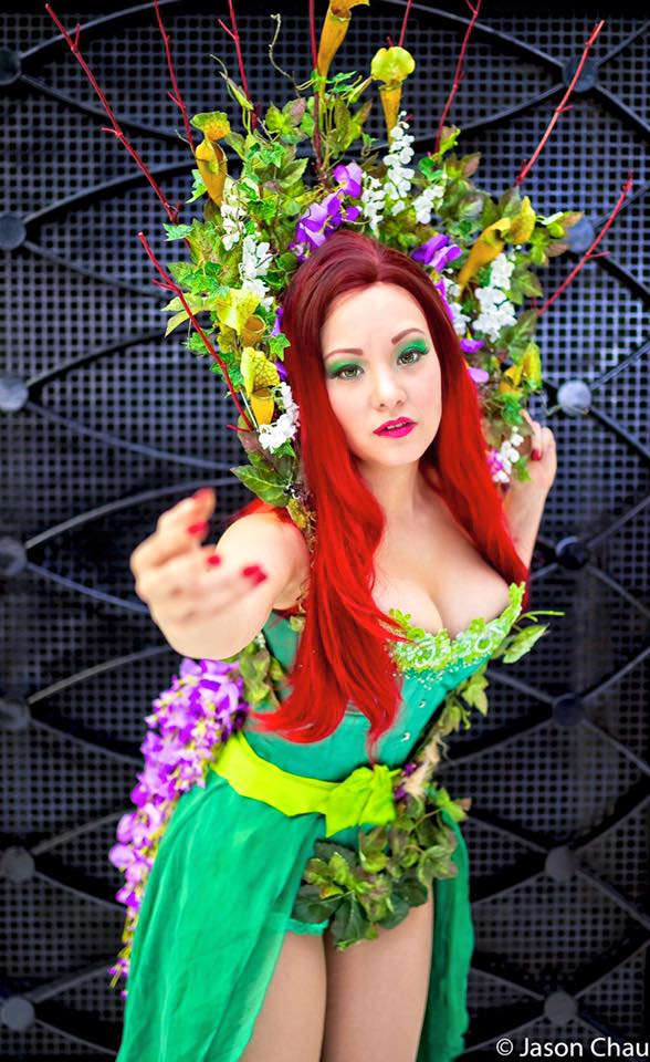Original Poison Ivy Cosplay by Ani-Mia