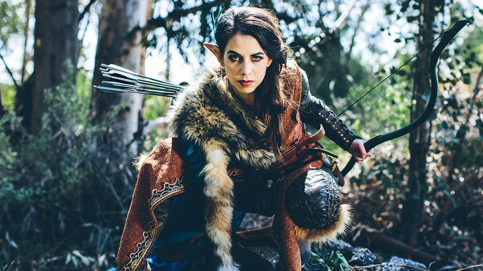 Critical Role's Laura Bailey as Vex
