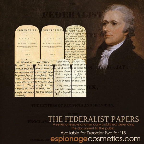 Federalist Papers Nail Wraps by Espionage Cosmetics