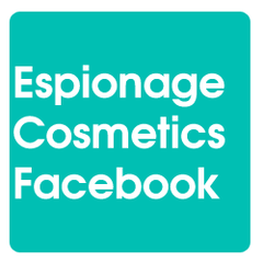 Review Espionage Cosmetics on Facebook