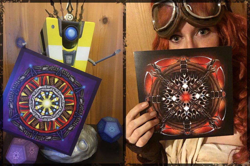 Pieces from Sam Skyler's Kaleidoscope Art Book! CL4P-TP Approved.