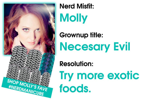 Molly's New Years Resolution