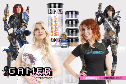 Gamer Girl Collection by Espionage Cosmetics | Retired