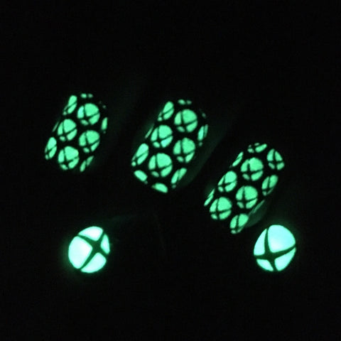 Yeah, they glow in the dark, too.