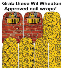 Espionage Cosmetics Tabletop nail wraps!
