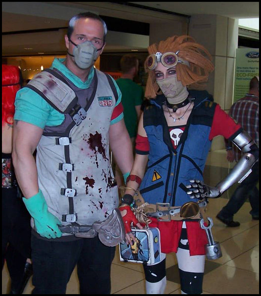 Photo by Unknown?! Lil Red Rogue as Gaige, Ix as Dr. Zed.