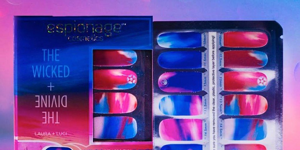 Wicked & Diving Nail Wraps by Espionage Cosmetics
