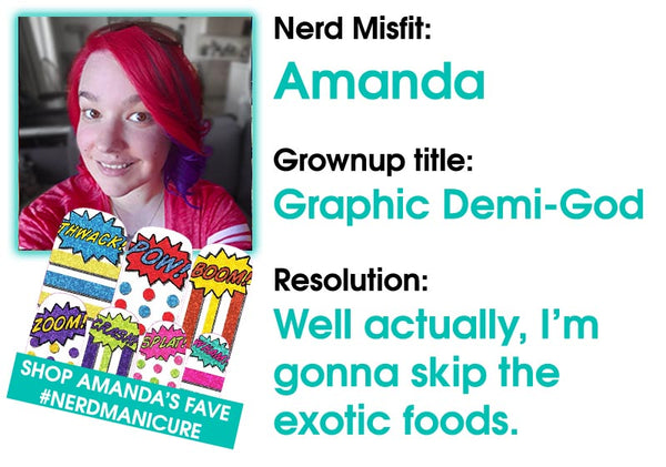 Amanda's New Years Resolution