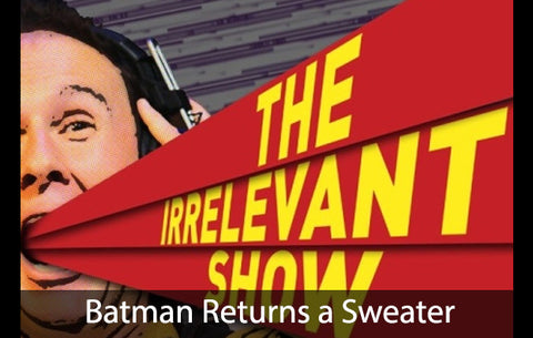 BATMAN RETURNS A SWEATER - Sketch