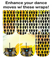 Espionage Cosmetics Borderlands Claptrap Nail Wraps
