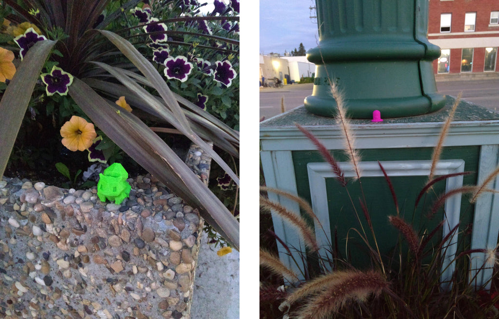3D Printed Pokemon Invade PokeStops