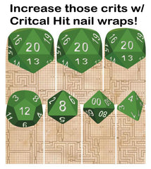 Espionage Cosmetics Critical Hit nail wraps!
