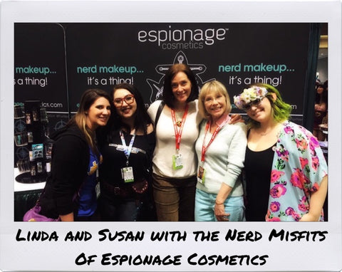 Espionage Cosmetics and Linda Ballantyne