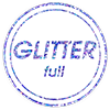 Full Glitter Finish Blue