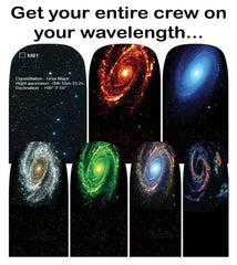 Espionage Cosmetics Galaxy Wavelengths Nail Wraps
