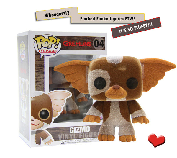 Gremlins Gizmo Flocked Pop Funko Figure