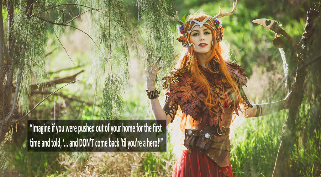 Critical Role's Marisha Ray as Keyleth
