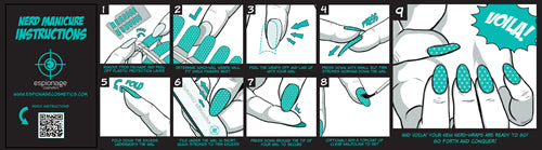 Nail Wrap Instructions