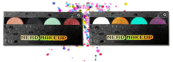 Nerd Makeup Palettes from Espionage Cosmetics