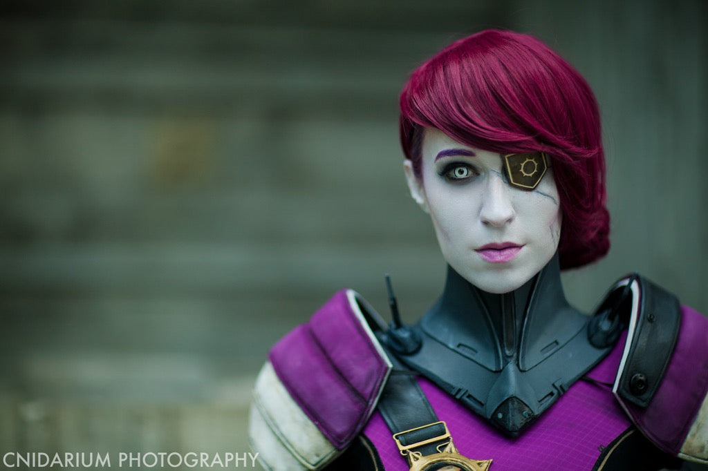 LilRedRogue as Petra from Destiny