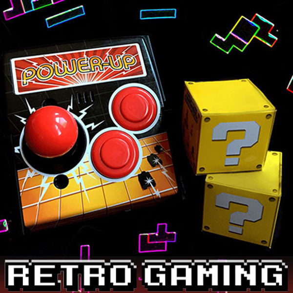 Retro Gaming Round of BOOM!Box