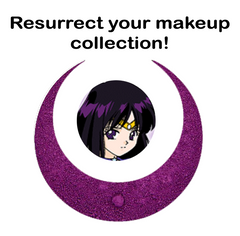 Sailor Saturn Makeup