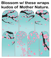 Espionage Cosmetics Sakura Blossoms Nail Wraps