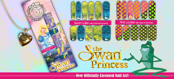 Espionage Cosmetics Swan Princess Nail Wraps