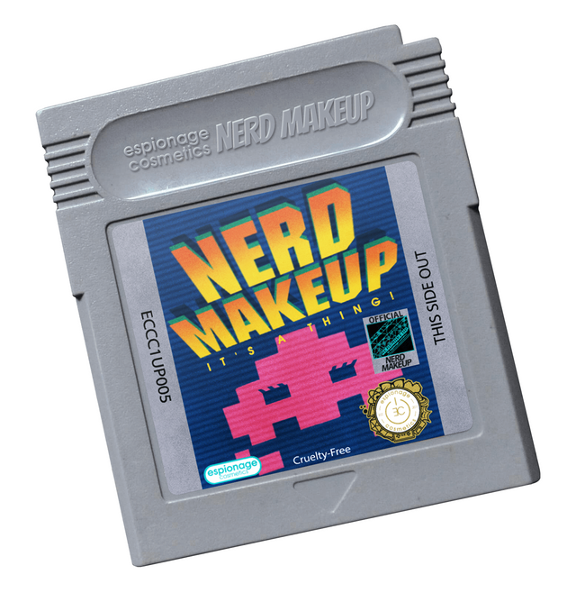 Cartridge Compact | Nerd Makeup Invaders