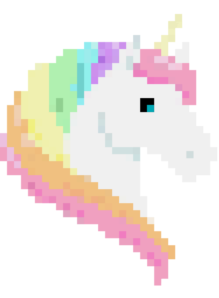 Birthday Unicorn Sticker