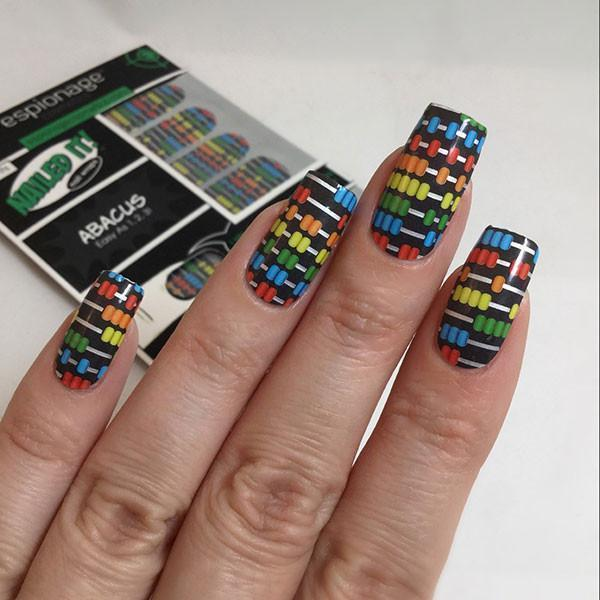 Abacus-Nail Wraps-Espionage Cosmetics