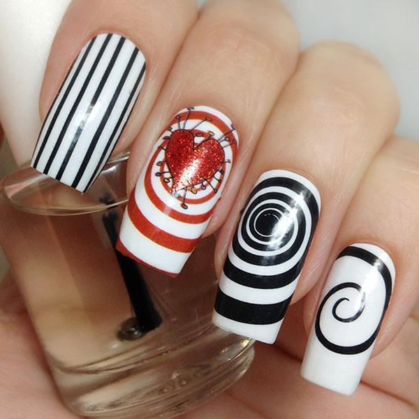 Burtonesque-Nail Wraps-Espionage Cosmetics