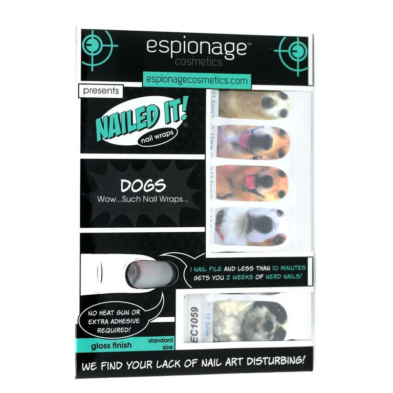 Dogs (Discontinued)-Nail Wraps-Espionage Cosmetics