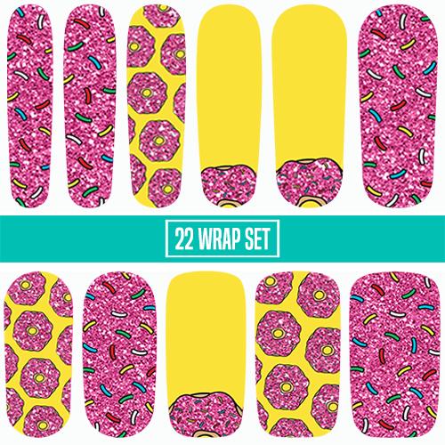 D'oh!Nuts-Nail Wraps-Espionage Cosmetics