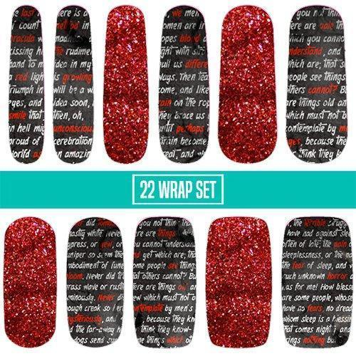 Dracula-Nail Wraps-Espionage Cosmetics